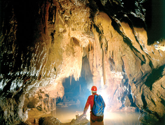 Karst Cave System of Aggtelek in Hungary