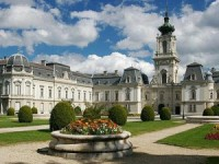 Festetics Castle and Museum in Keszthely, Hungary