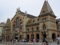 Kzponti Vsrcsarnok or Great Market Hall in Budapest