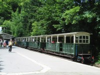 Forest Railway in Lillafured, Hungary
