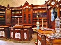 Szerecsen Pharmacy Museum in Pecs, Hungary