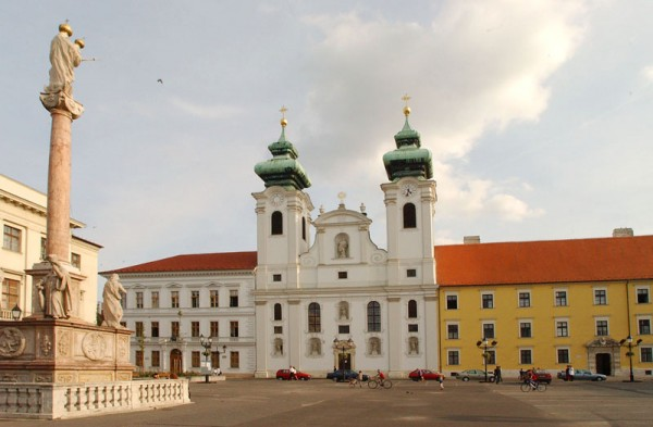 St. Ignatius of Loyola Church in Gyor