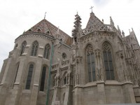 Most important tourist attractions of Budapest on the central hills of Buda
