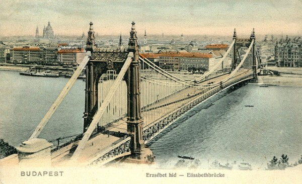 The old Elisabeth Bridge