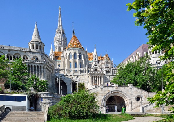 The Fisherman's Bastion in Budapest