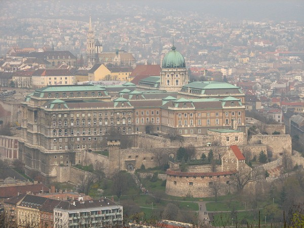 Royal Palace on the Castle Hill of Budapest