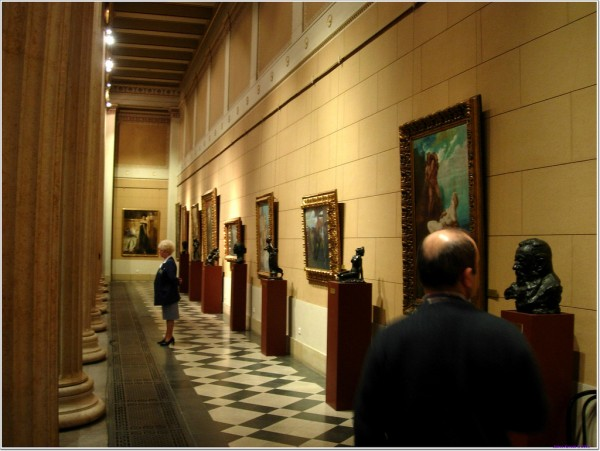 Art collection of the Museum of Fine Arts