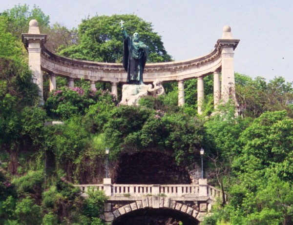 St Gellert Statue on the Gellert Hill