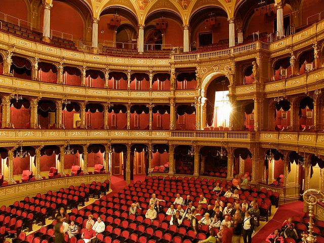 The Hungarian Opera In Budapest Hungary Travel Guides