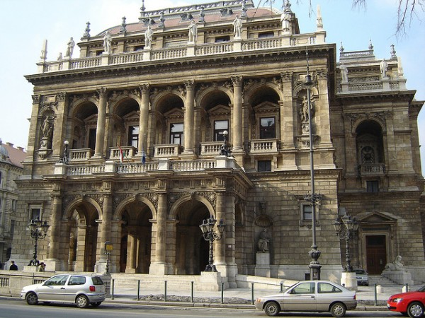 The Hungarian State Opera in Budapest
