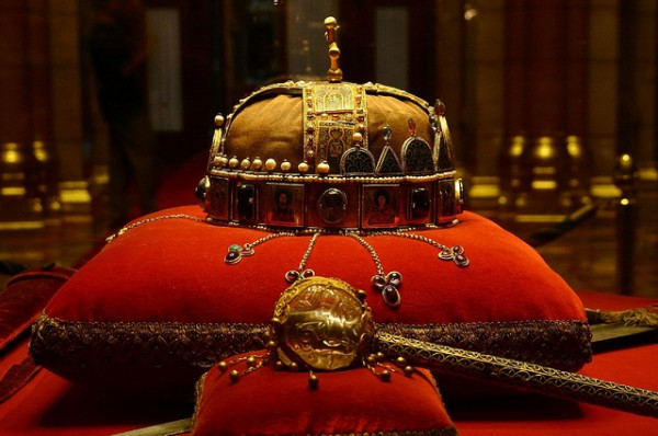 The Hungarian coronation regalia