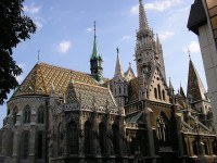 The famous Matthias Church in Budapest
