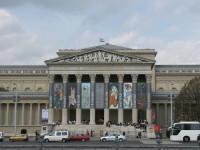 The Museum of Fine Arts in Budapest