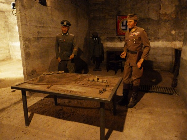 Wax museum in the Citadel
