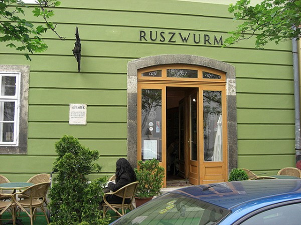 Ruszwurm Pastry Shop in Budapest