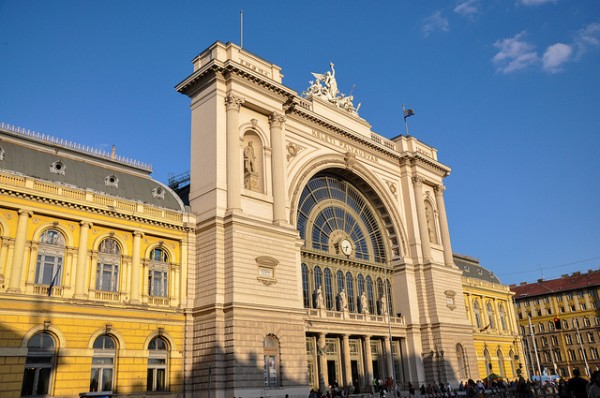 The Eastern Railway Station in Budapest