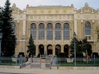 The Vigado Concert Hall in Budapest