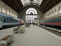 The Eastern Railway Station of Budapest
