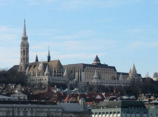 The Hilton Hotel on the Castle Hill of Budapest