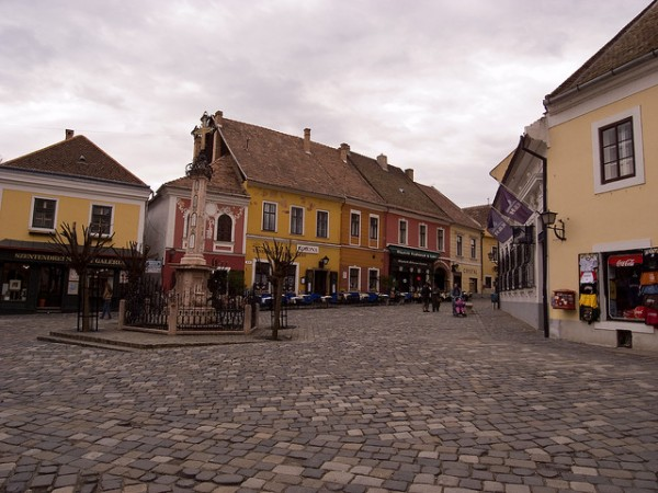 The beautiful city of Szentendre