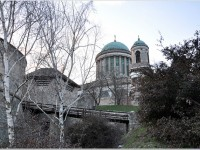 The third largest basilica of Europe in the city of Esztergom