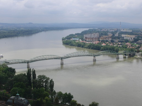 The bridge of Esztergom