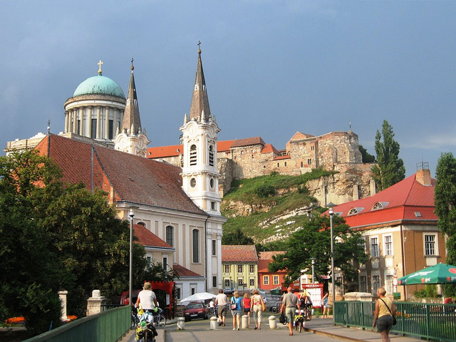 Tourist Attractions In The City Of Esztergom Hungary