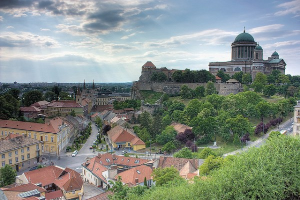 The city of Esztergom and the Basilica