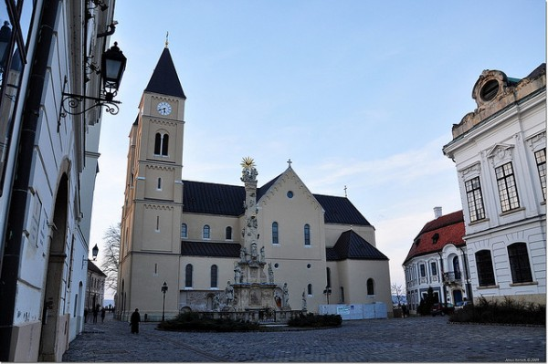 The Cathedral of Saint Michael in the Castle of Veszprém