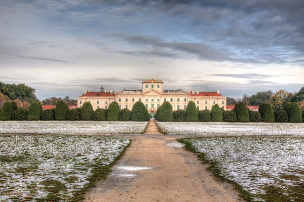 The Eszterhazy Castle in Fertod