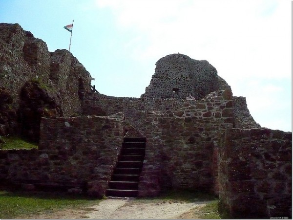 The Szigliget Castle ruins