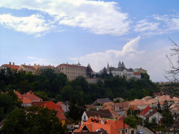 The city of Veszprem