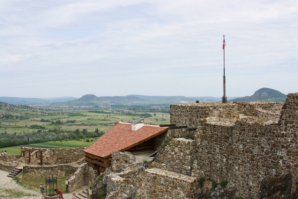 View from the Castle of Szigliget