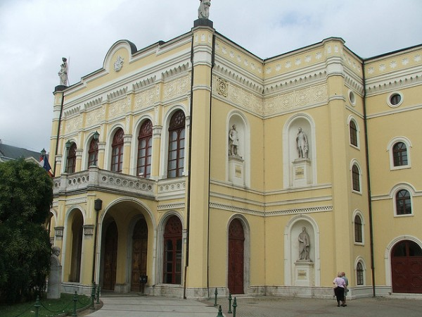 The Csokonai Theater in Debrecen