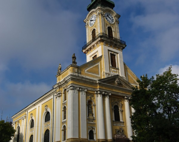 The Great Church in Kecskemet