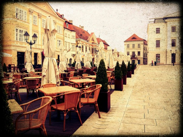 The old center of Gyor