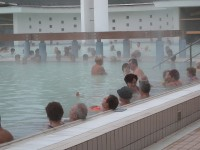 The thermal spa in Harkany