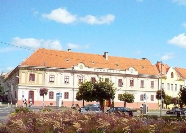 The City Hall in Keszthely