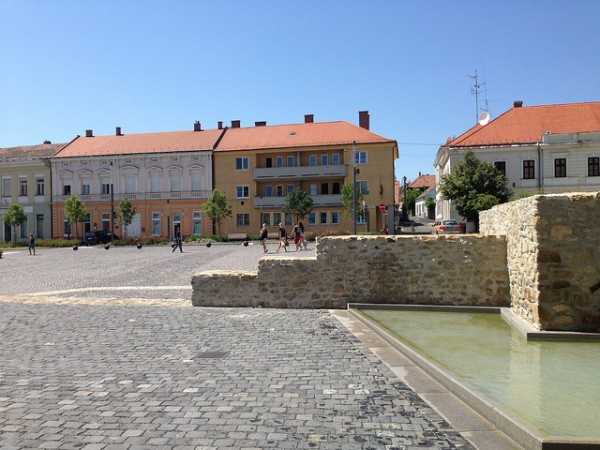 The Main Square of Keszthely