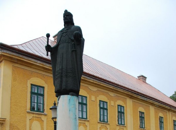 The Statue of St Stephen in Kalocsa