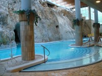 The cave spa in Miskolctapolca