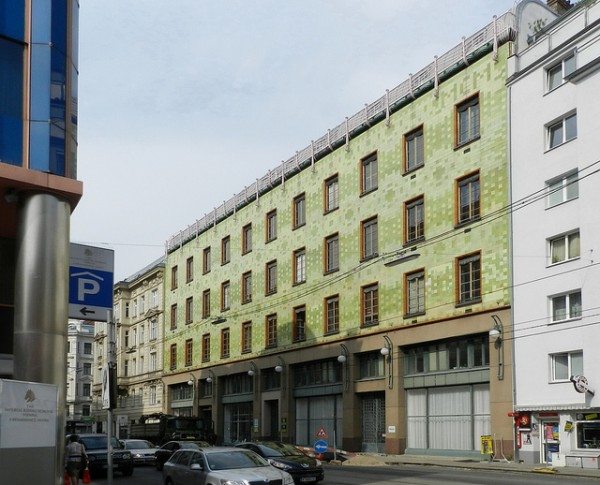 Factory covered by Zsolnay Porcelain