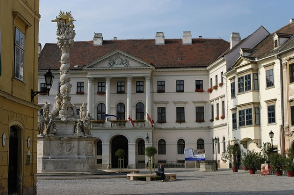 The Holy Trinity Statue of Sopron