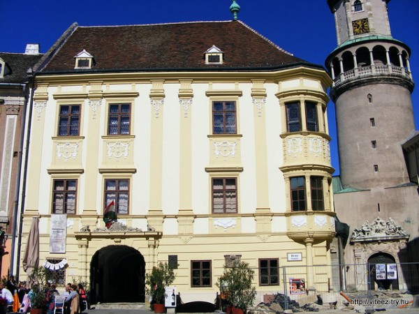 The Storno Palace in Sopron