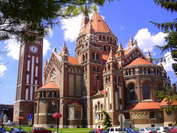 The Cathedral of Szeged