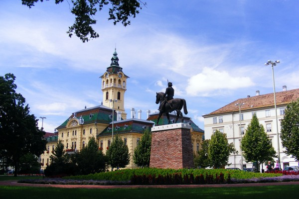 The city of Szeged